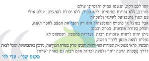 טקסט זוכה עדי לוי