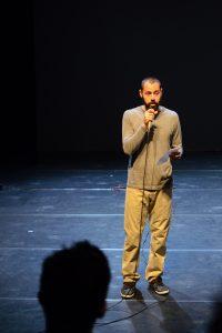 תמונה 37 מאירוע לציון זכייה בפרס אמיל זולא לאמנויות הבמה – פרזנטציה של עבודה בתהליך – ארקדי זיידס