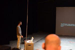 תמונה 38 מאירוע לציון זכייה בפרס אמיל זולא לאמנויות הבמה – פרזנטציה של עבודה בתהליך – ארקדי זיידס