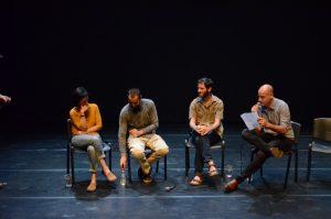 תמונה 49 מאירוע לציון זכייה בפרס אמיל זולא לאמנויות הבמה – פרזנטציה של עבודה בתהליך – ארקדי זיידס