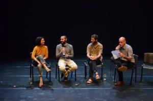 תמונה 50 מאירוע לציון זכייה בפרס אמיל זולא לאמנויות הבמה – פרזנטציה של עבודה בתהליך – ארקדי זיידס