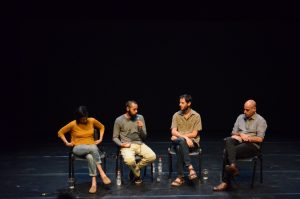 תמונה 51 מאירוע לציון זכייה בפרס אמיל זולא לאמנויות הבמה – פרזנטציה של עבודה בתהליך – ארקדי זיידס