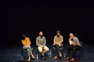 תמונה 52 מאירוע לציון זכייה בפרס אמיל זולא לאמנויות הבמה – פרזנטציה של עבודה בתהליך – ארקדי זיידס