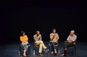 תמונה 53 מאירוע לציון זכייה בפרס אמיל זולא לאמנויות הבמה – פרזנטציה של עבודה בתהליך – ארקדי זיידס