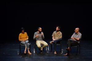 תמונה 54 מאירוע לציון זכייה בפרס אמיל זולא לאמנויות הבמה – פרזנטציה של עבודה בתהליך – ארקדי זיידס