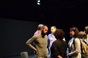 תמונה 57 מאירוע לציון זכייה בפרס אמיל זולא לאמנויות הבמה – פרזנטציה של עבודה בתהליך – ארקדי זיידס