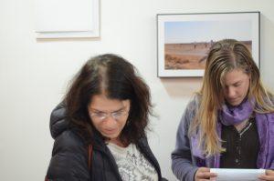 """תמונה 12 מנורלדין מוסא –  """"Waiting"""" One year at Holot Detention Center, Parasite"""""""