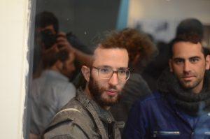 """תמונה 16 מנורלדין מוסא –  """"Waiting"""" One year at Holot Detention Center, Parasite"""""""