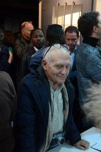 """תמונה 17 מנורלדין מוסא –  """"Waiting"""" One year at Holot Detention Center, Parasite"""""""