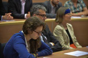 """תמונה 66 מכנס הקשת הספר """"Transparancy and International Law"""""""